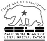 Certified Specialist in Workers' Compensation by the California State Bar